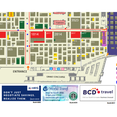 Expo Map Advertising